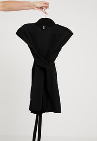 Missguided - LAPEL TIE DETAIL - Tuta jumpsuit - black - 5