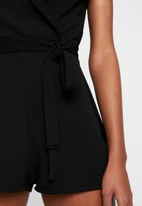 Missguided - LAPEL TIE DETAIL - Tuta jumpsuit - black - 7