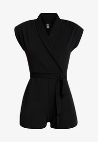 Missguided - LAPEL TIE DETAIL - Tuta jumpsuit - black - 6