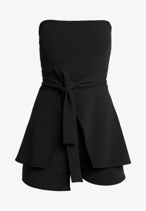 BANDEAU TIE FRONT SKORT - Overall / Jumpsuit - black