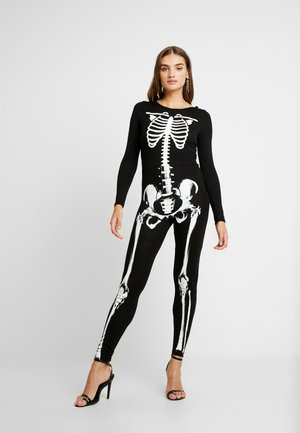 HALLOWEEN SKELETON PRINTED - Jumpsuit - black