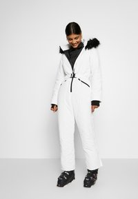 Missguided - SKI SNOW  - Jumpsuit - white
