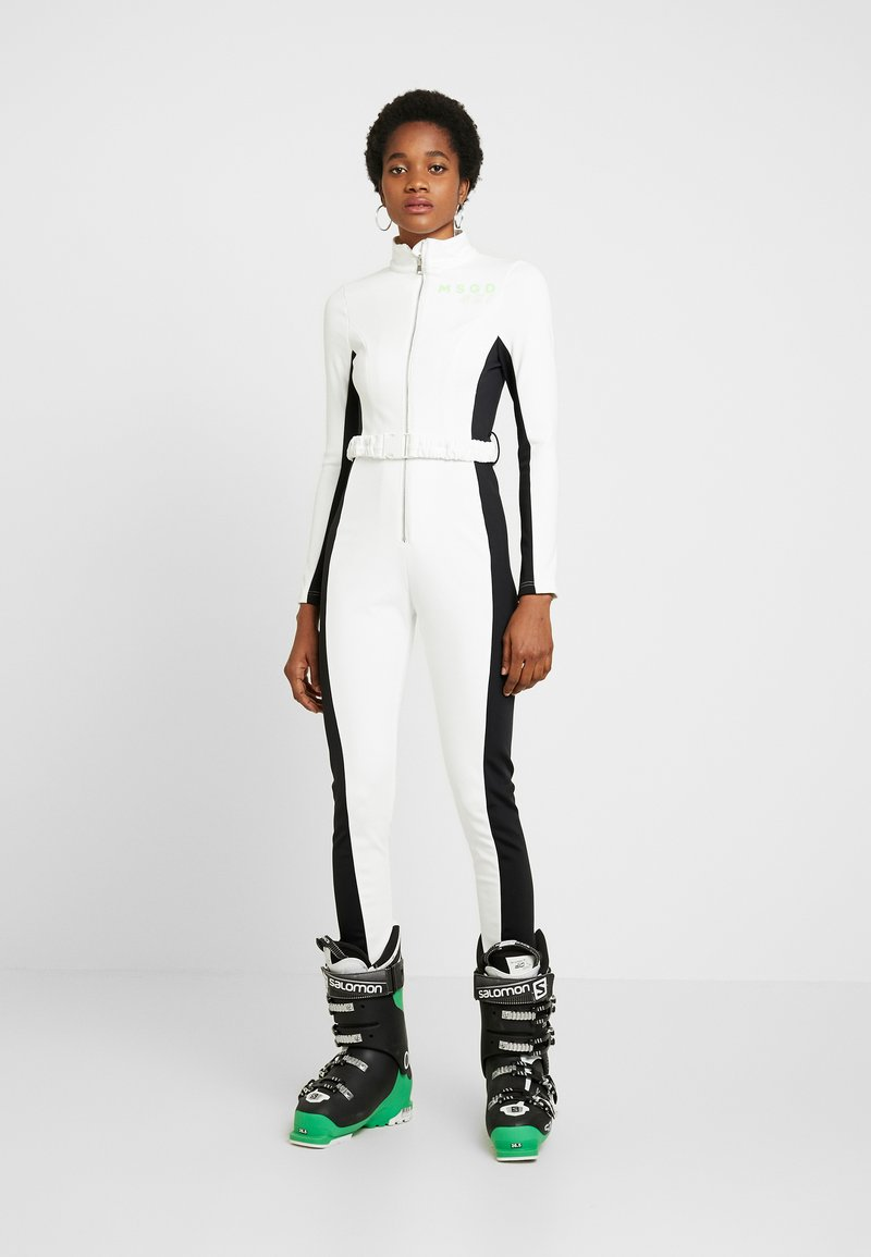 Missguided - SKI SNOW FITTED - Combinaison - white