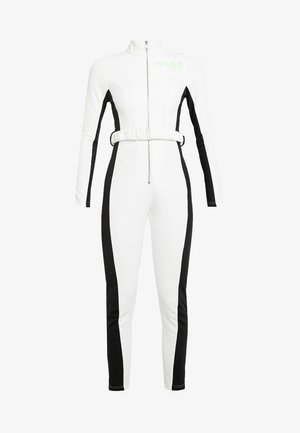 SKI SNOW FITTED - Jumpsuit - white