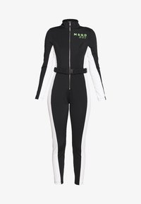 Missguided - SKI SNOW FITTED - Jumpsuit - black - 4