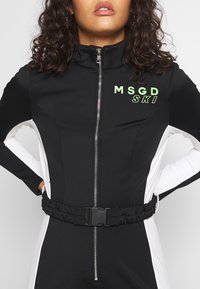 Missguided - SKI SNOW FITTED - Combinaison - black - 5