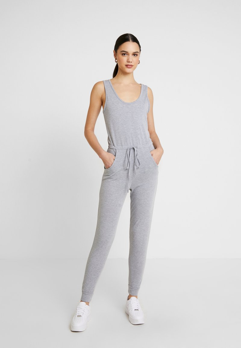 Missguided - SLEEVELESS - Overall / Jumpsuit /Buksedragter - grey