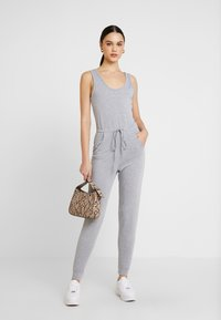 Missguided - SLEEVELESS - Overall / Jumpsuit /Buksedragter - grey - 1