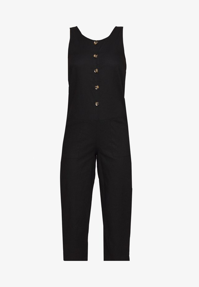BUTTON DETAIL RELAXED - Combinaison - black