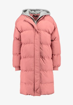 LONGLINE PUFFER  - Winter coat - pink