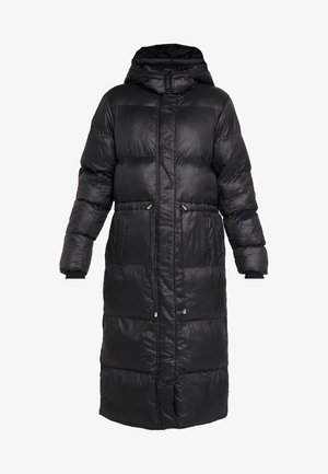 LONGLINE PUFFER  - Wintermantel - black