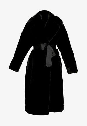 BELTED COAT - Frakker / klassisk frakker - black