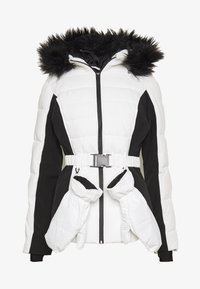 Missguided - SKI NEON PADDED JACKET - Giacca invernale - white - 5