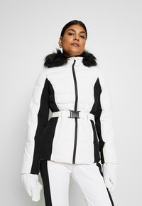 Missguided - SKI NEON PADDED JACKET - Giacca invernale - white - 0