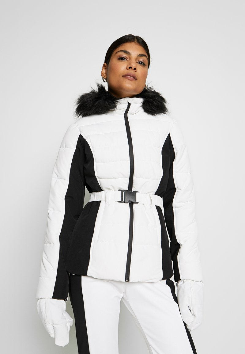 Missguided - SKI NEON PADDED JACKET - Giacca invernale - white