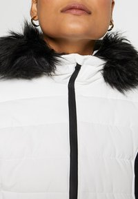 Missguided - SKI NEON PADDED JACKET - Giacca invernale - white - 6