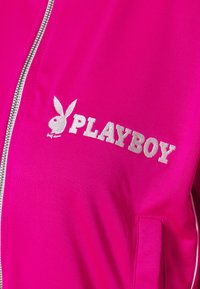 Missguided - PLAYBOY ZIP THROUGH CROP JACKET - Treningsjakke - pink - 3