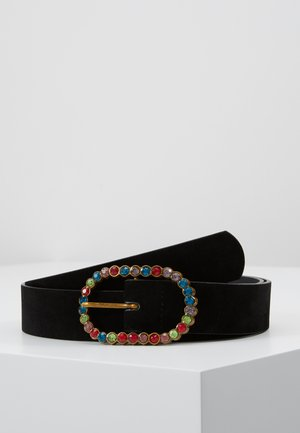 BUCKLE BELT - Cinturón - black