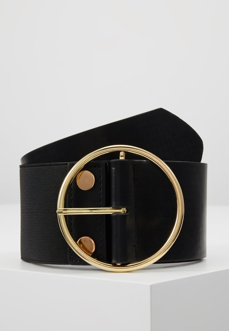 Missguided - OVERSIZED RING WAIST BELT - Taillengürtel - black