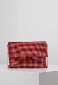 Missguided - CIRCULAR CHAINMAIL FOLD OVER - Pochette - red - 0