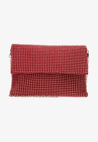 Missguided - CIRCULAR CHAINMAIL FOLD OVER - Pochette - red - 5
