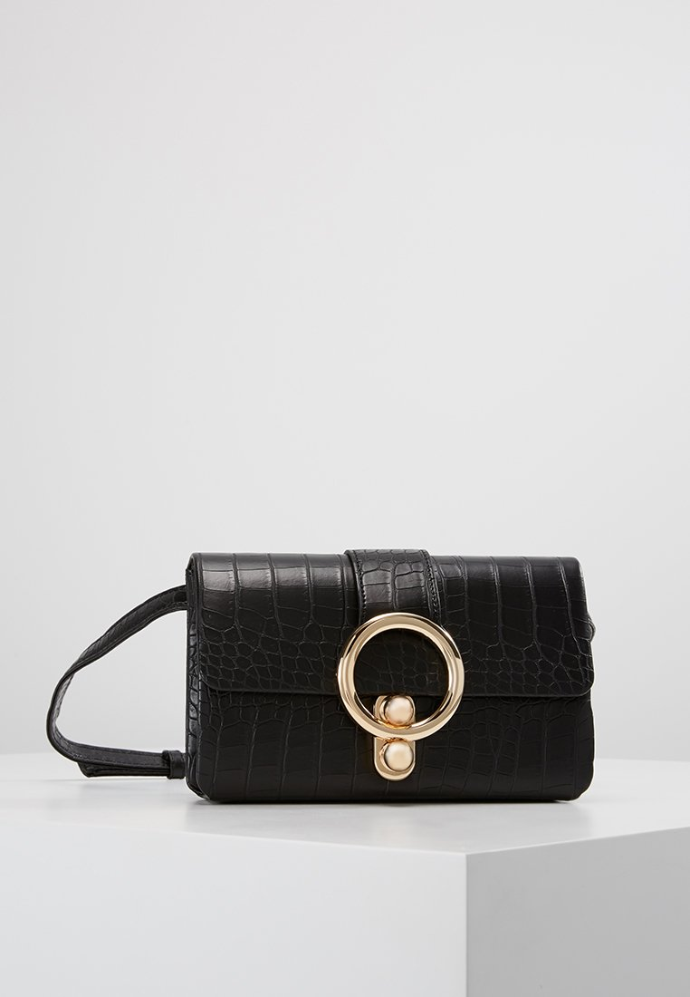 Missguided - RING CROC BUMBAG - Sac banane - black