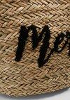 Missguided - MERCI BEACH BAG - Shopping bag - brown