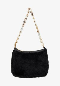 Missguided - CHAIN DETAIL HANDBAG - Handbag - black - 5
