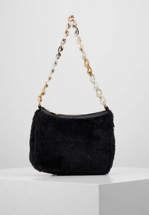 CHAIN DETAIL HANDBAG - Sac à main - black