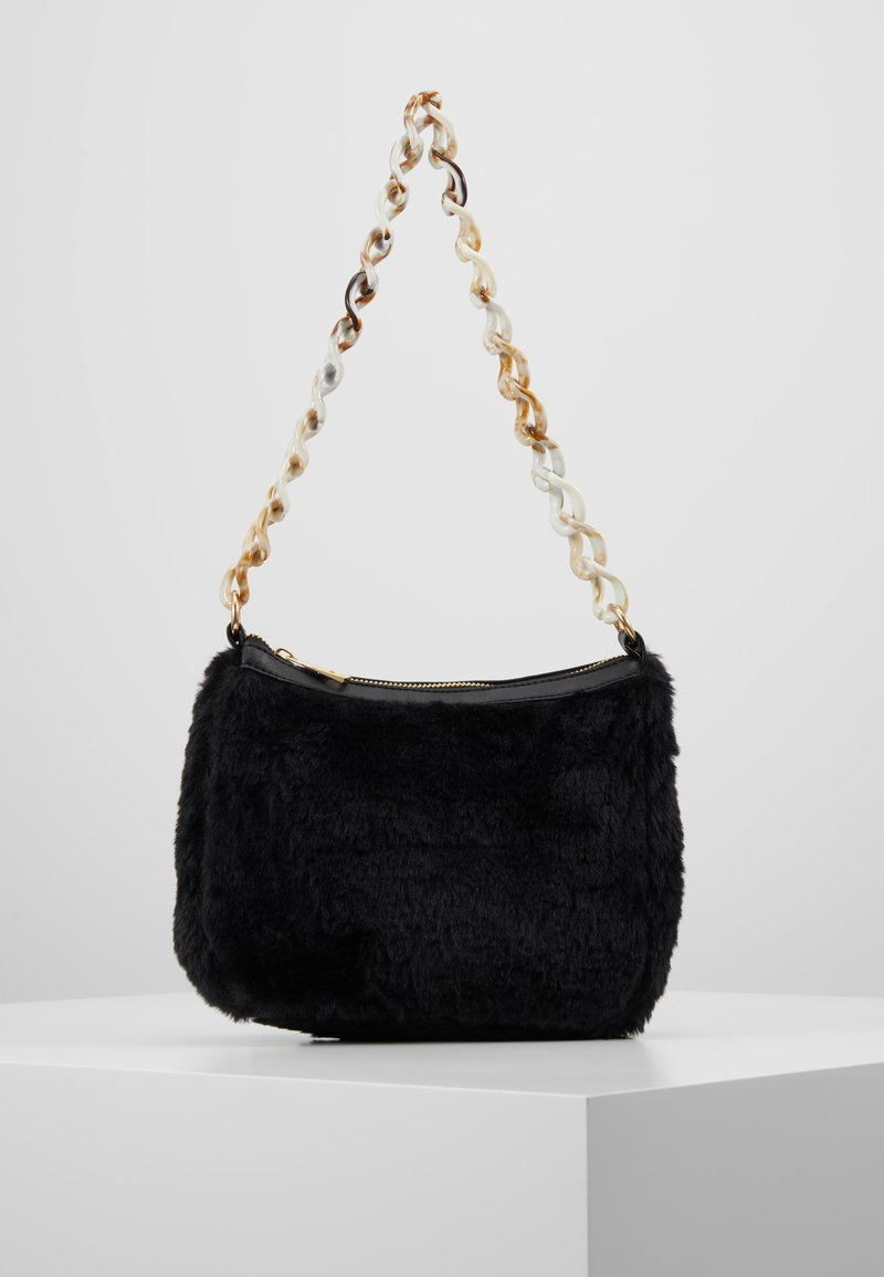 Missguided - CHAIN DETAIL HANDBAG - Handtasche - black