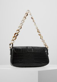 Missguided - HANDLE CROC DETAIL HANDBAG - Sac à main - black - 2