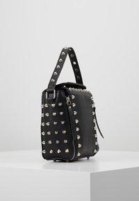 Missguided - STUD DETAIL CROSS BODY BOX BAG - Handbag - black - 3