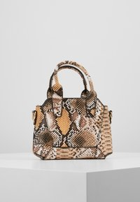 Missguided - MINI SNAKE HANDBAG - Handtasche - brown - 2
