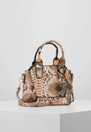 MINI SNAKE HANDBAG - Handbag - brown
