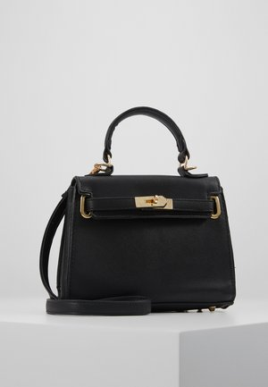 CLASP DETAIL CROSS BODY HANDBAG MINI HANDBAG - Sac à main - black