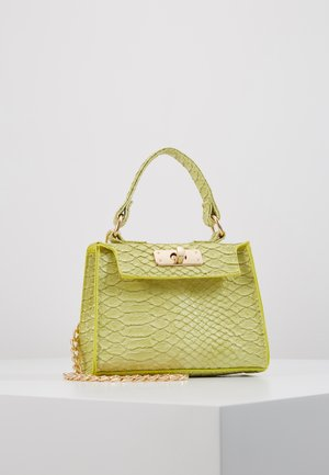 MINI TOP HANDLE HANDBAG - Handtasche - pistachio