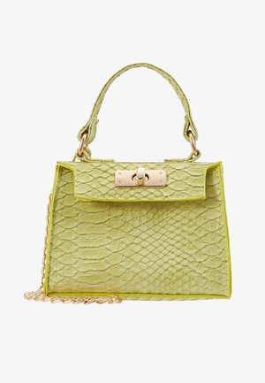 MINI TOP HANDLE HANDBAG - Sac à main - pistachio