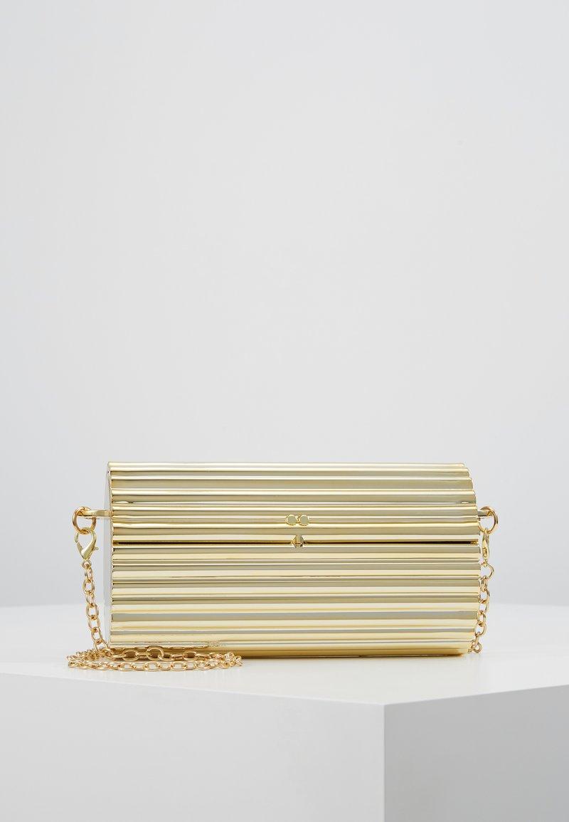Missguided - HARD CASE CROSS BODY BAG - Psaníčko - gold-coloured