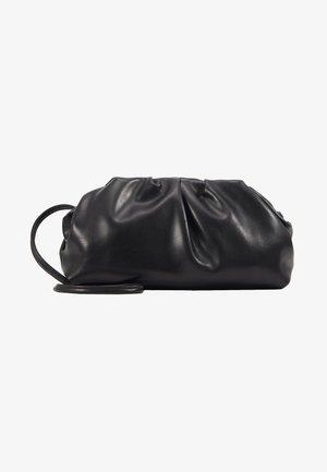 POUCH BAG WITH CROSS BODY STRAP - Taška spříčným popruhem - black
