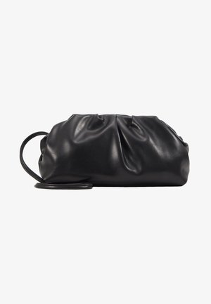 POUCH BAG WITH CROSS BODY STRAP - Sac bandoulière - black