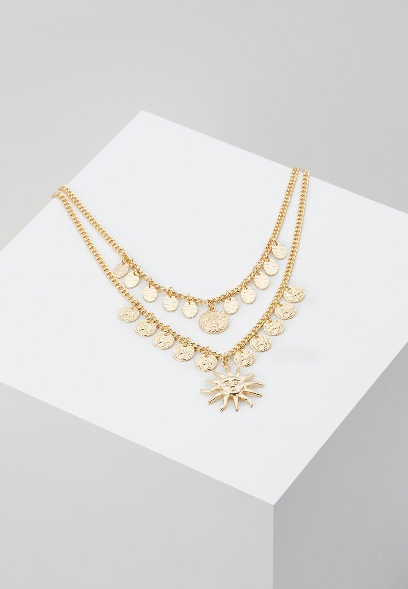 Missguided - SUN MULTIROW - Kaulakoru - gold-coloured