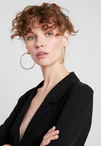 Missguided - DOUBLE HOOP 3 PACK - Earrings - gold-coloured - 1