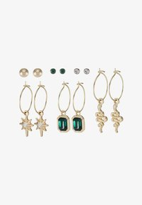 Missguided - SNAKE 6 PACK - Boucles d'oreilles - gold-coloured - 3