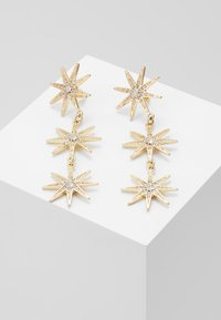 Missguided - TRIPLE STAR - Pendientes - gold-coloured - 0