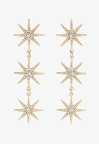 Missguided - TRIPLE STAR - Pendientes - gold-coloured - 3