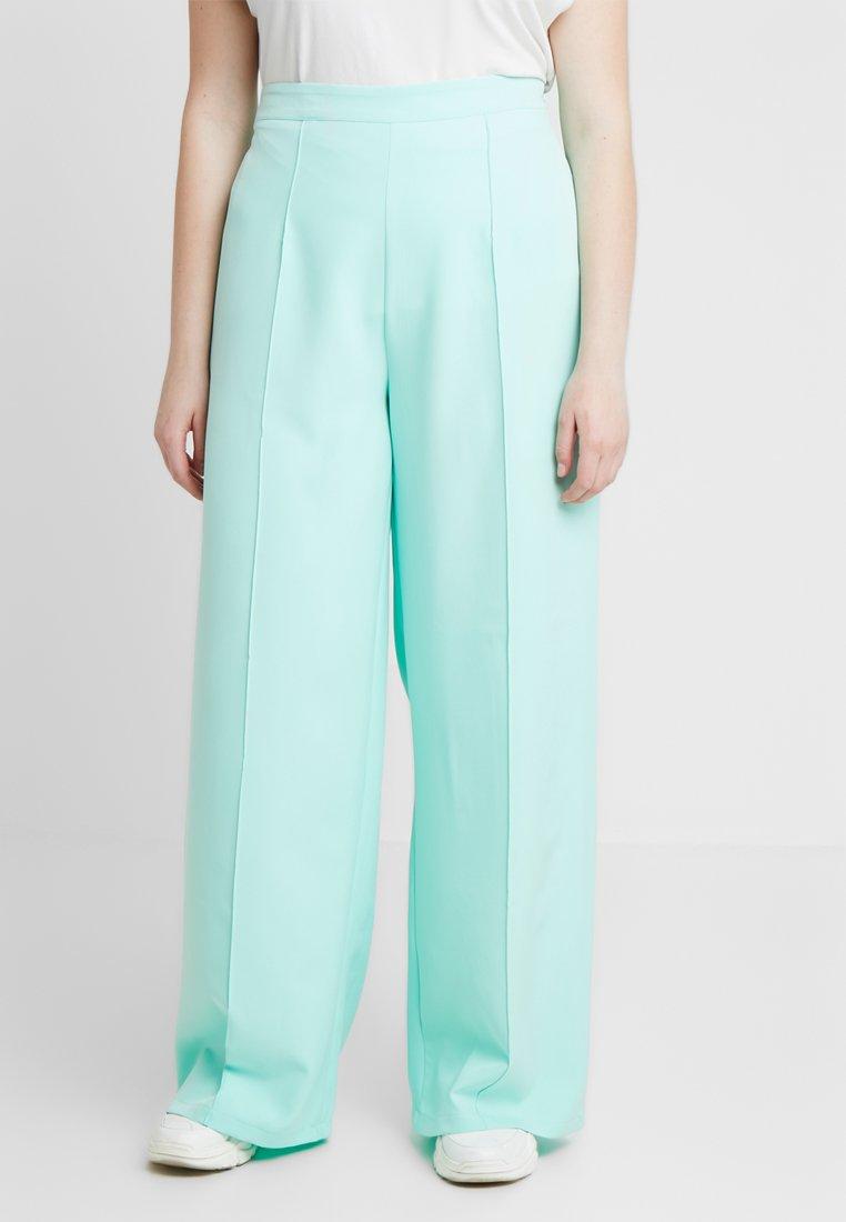 Missguided Plus - CURVE CIGARETTE TROUSER - Kalhoty - mint green
