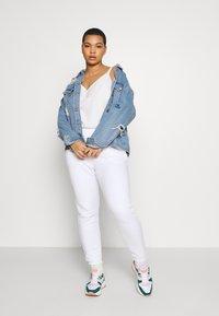 Missguided Plus - JOGGER 2 PACK - Pantalon de survêtement - black/ white - 1