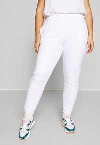 Missguided Plus - JOGGER 2 PACK - Pantalon de survêtement - black/ white - 2