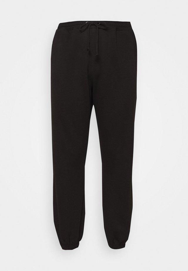 PLUS SIZE 90S JOGGERS - Spodnie treningowe - black