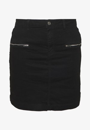 SUPERSTRETCH SKIRT - Jeansrok - black